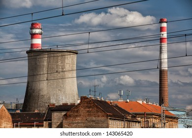 Thermal power plant in Brno in Czech Republic