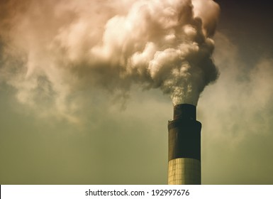 Thermal power plant, in the central province of Hebei China