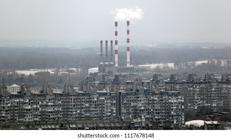 Thermal Power Plant in New Belgrade Serbia