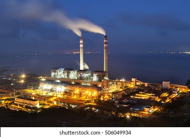 Thermal power plant of night