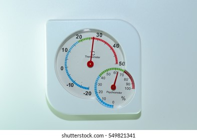 thermometer and psychometer