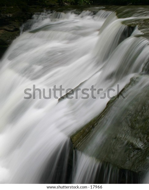 These falls were one of the many in Robert Treman State Park, Ithaca, NY.