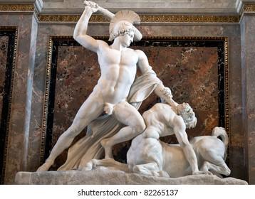Theseus Fighting the Centaur