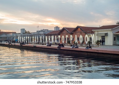 THESSALONIKI, 03 NOV 2017 -  58th Thessaloniki International Film Festival, at Thessaloniki Port, Greece