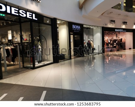 7579e596e9 Thessaloniki Greece 10232018 Cosmos Mall Greece Stock Photo (Edit ...