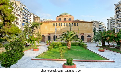 Thessaloniki, Greece - September 10, 2015: Hagia Sophia
