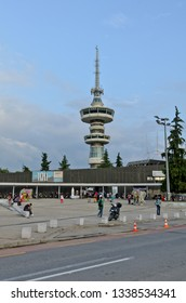 Thessaloniki, Greece - September 10, 2015: Stratou Square