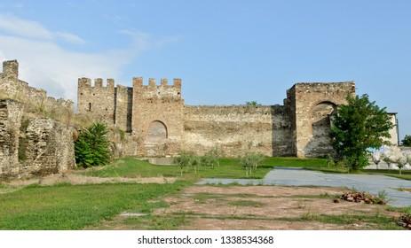 Thessaloniki, Greece - September 10, 2015: Castle Thessaloniki