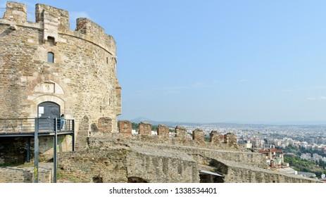 Thessaloniki, Greece - September 10, 2015: Alysseos Tower
