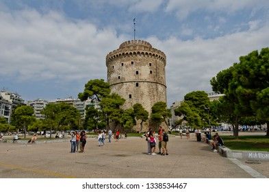 Thessaloniki, Greece - September 8, 2015: White Tower