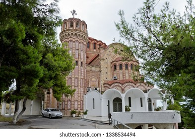 Thessaloniki, Greece - September 8, 2015: Saint Paul Orthodox Church