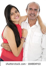 they love each other thay are family daugther and father
