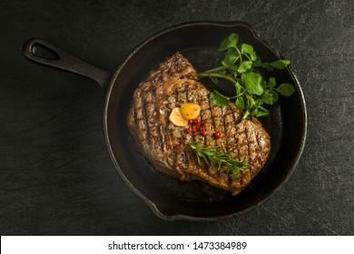 Thick cut luxury fresh beef steak