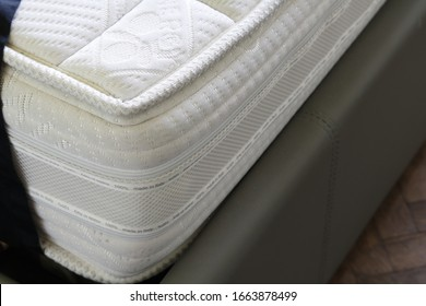 thick soft memory foam mattress with silver threads