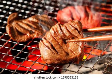 Thick-cut Gyutan (Sliced beef tongue)