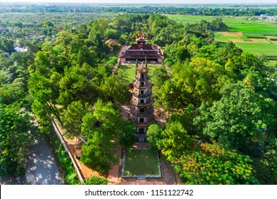 The Thien Mu Pagoda is one of the ancient pagoda in Hue city.It is located on the banks of the Perfume River in Vietnam's historic city of Hue. Thien Mu Pagoda can be reached either by car or by boat.