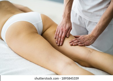 Thigh Cellulite Soothing Shiatsu Aroma Massage And Care