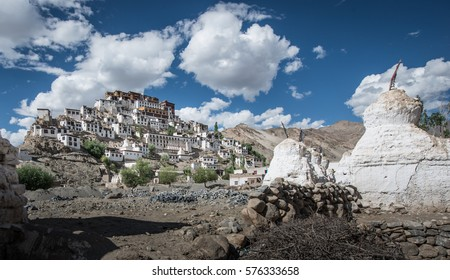 Thiksey monastery , Leh Ladakh , India