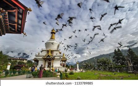 Thimphu city, Bhutan