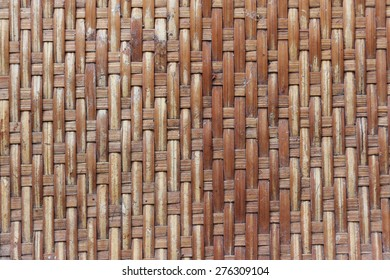 thin bamboo-stripes weaving