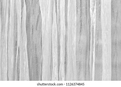 Thin material textile texture background usualy used for curtains
