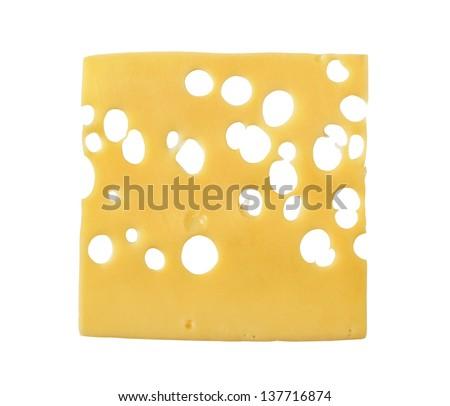 thin slice swiss cheese の写真素材 今すぐ編集 137716874