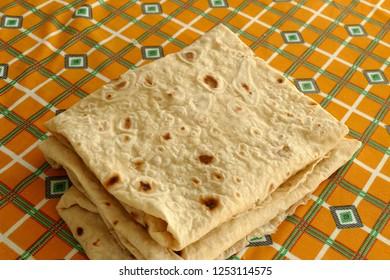 thin yufka bread, soft yufka bread, ready to eat, watered