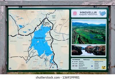 Thingvellir National Park Historical Images, Stock Photos & Vectors on