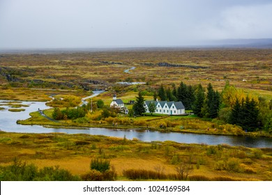 Þingvellir or Thingvellir national park in Iceland,  is a site of historical, cultural, and geological significance