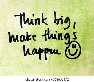 Big Things Happening /'
