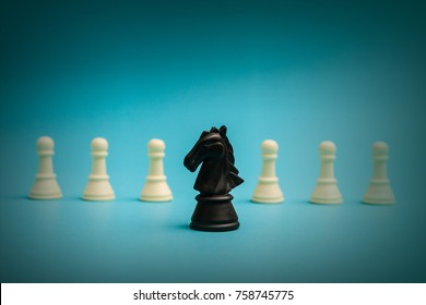 think different ,success, chess concept