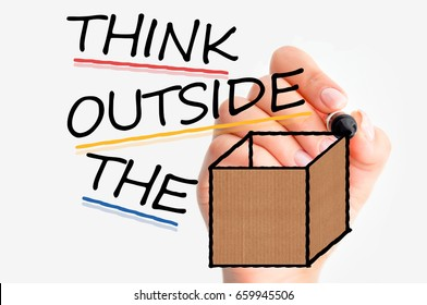 Think outside the box or different if you want to have success in business