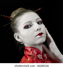 Thinking japanese Geisha