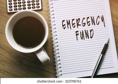 Thinking on Emergency Fund, personal finance conceptual