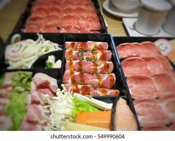 Thinly Sliced Pork