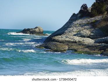 Third Beach in Middletown, Rhode Island