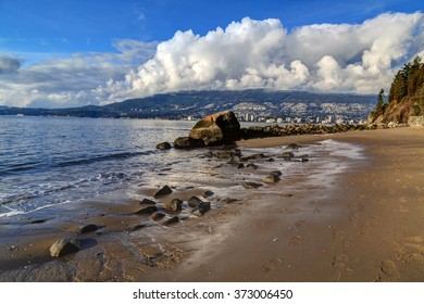 The Third Beach in Stanley Park, Vancouver, Canada