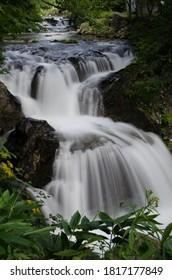 北海道大滝地区3階の滝