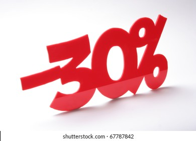 thirty percent, discount
