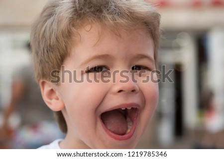 This Amazing Little Child Stylish Haircut Stock Photo Edit Now