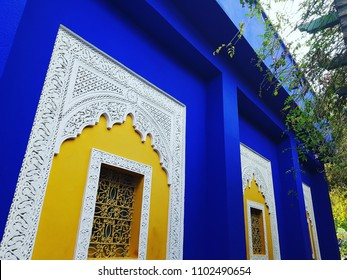 This amazing view in Marrakech city in Morocco