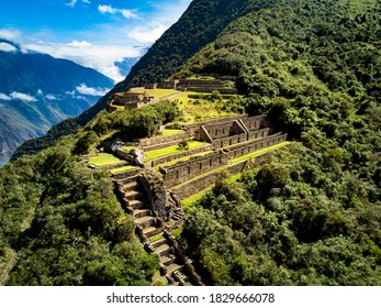 """This ancient Inca city is known as """"Choquequirao"""" the younger sister of Machupicchu. According to various investigations, Choquequirao would also be a fortress and a ceremonial center."""