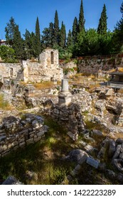 This is the ancient pool of Bethesda from the Bible where the lame man was made to walk