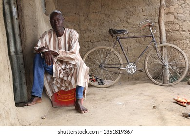 This is Askira-Uba community in Borno-State, Nigeria. Shot on September, 9, 2015. This is one of the fathers that lost his daughter to Boko-Haram in Northern Nigeria.  Visited him to hear his story.