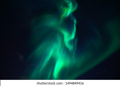 This is the aurora borealis of the most beautiful natural phenomena