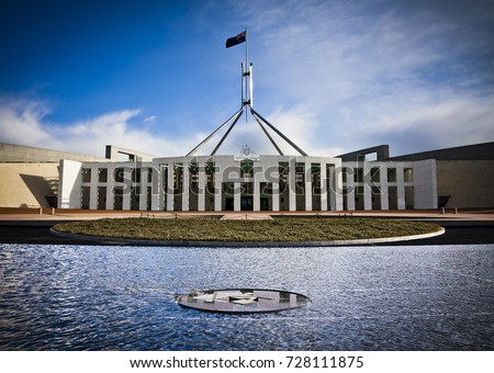 This is the Australian Parliament House in Canberra. Which was the world's most expensive building when it was completed in 1988.