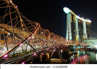 This is the beautiful architecture of Singapore.