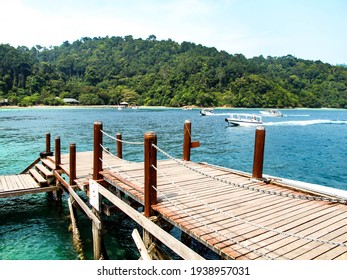 This is a beautiful view along the coast of Malaysia
