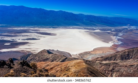 In this below-sea-level basin, steady drought and record summer heat make Death Valley a land of extremes. Yet, each extreme has a striking contrast.