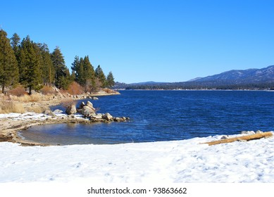 This is from Big Bear Lake in California.